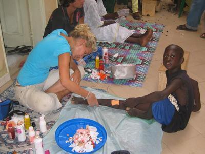 Mission médicale auprès des Talibés du Sénégal