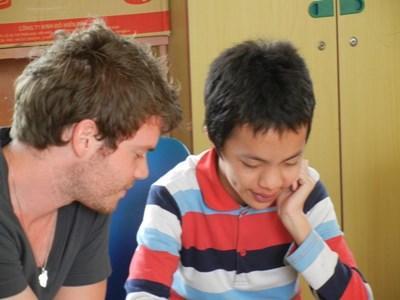 Volontaire orthophoniste au Vietnam