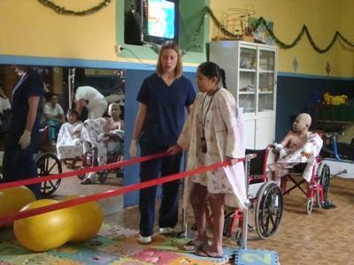 Kinésithérapeute volontaire en Amérique latine