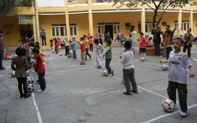 Sports volunteer in Vietnam