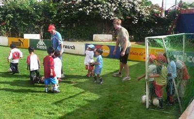 Soccer skills training