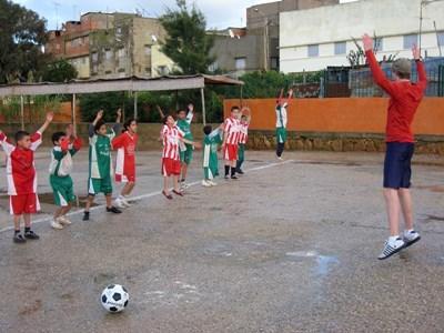 Sport humanitaire au Maroc