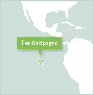 Carte des missions de volontariat en Équateur - Galápagos