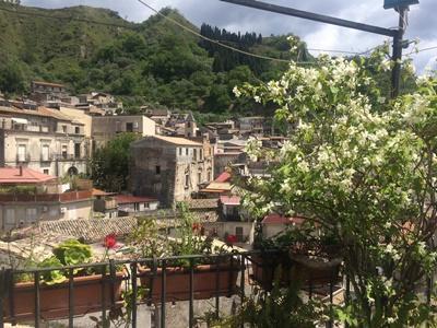 Village de Calabria lors d'une mission de volontariat en Italie