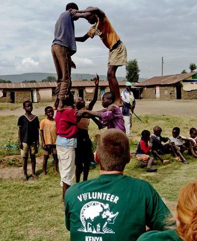 Mission de volontariat au Kenya