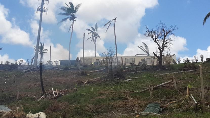 Cyclone Winston was the most powerful storm to ever hit Fiji and destroyed and damaged many homes and schools