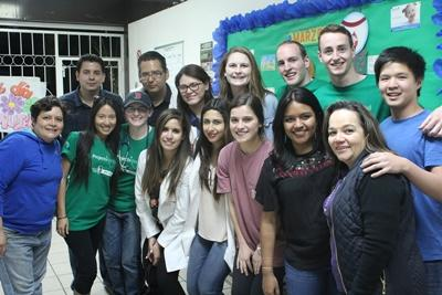 A group of Projects Abroad interns and staff after completing a medical outreach in Mexico.