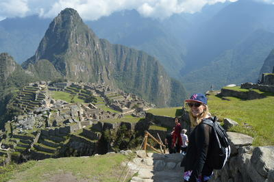 A visit to Machu Picchu was one of the highlights of this volunteer's global gap program in Peru