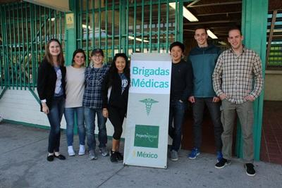 Projects Abroad interns and staff prepare to host a medical outreach in Guadalajara, Mexico.