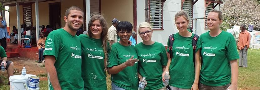 During an Easter Week Special in Jamaica you will take part in our Building volunteer project