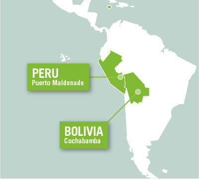 Projects Abroad is based in Puerto Maldonado, Peru, and Cochabamba, Bolivia