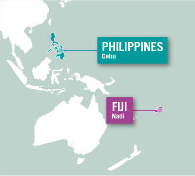 Projects Abroad is based in Cebu, Philippines and Nadi, Fiji.