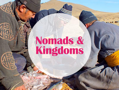 Options for combining cultural immersion projects in Mongolia and Cambodia