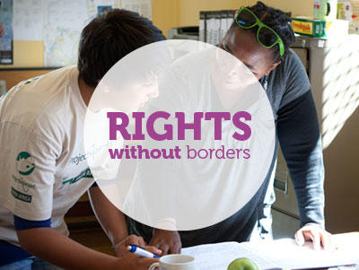 Options for combining international development and human rights projects in South Africa and Mexico.