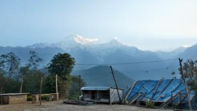 The location of the Projects Abroad Himalayan Mountain Conservation Project in Nepal.