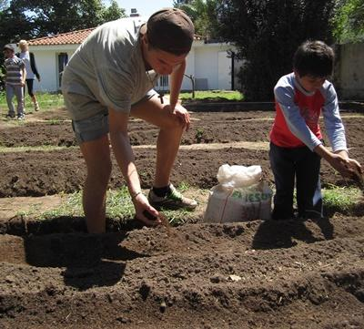 Community Farming in Argentina with Projects Abroad