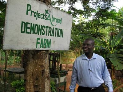 The Farming Project in Ghana works in collaboration with local placements
