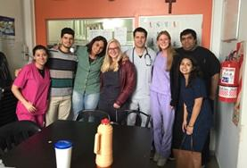 A group of medical interns spend time observing local doctors in Argentina.