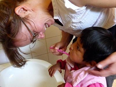 Volunteer at an orphanage in Bolivia