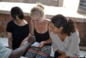 Volunteers learn to recognize symptoms of HIV and AIDS while on their volunteering trip in Ghana.
