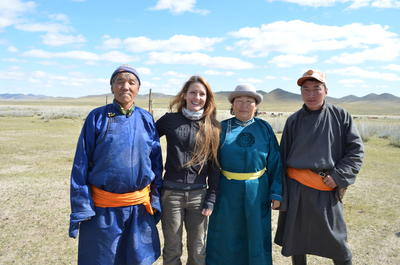 Live with a nomadic family on this cultural immersion project in Mongolia