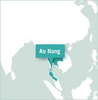 Thailand volunteer placement map