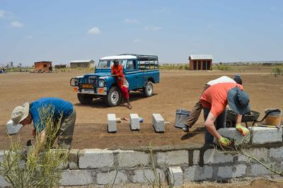Help build a school for a Maasai community on the High School Special Building Project in Tanzania