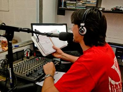 A Projects Abroad intern gains experience in broadcast journalism by hosting a radio show at his placement in Argentina.