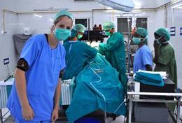 Volunteer in Medical field in India