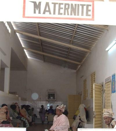 A maternity unit in Senegal where Projects Abroad places interns studying to be midwives.