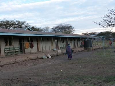 A clinic in a rural area of Tanzania where professional doctors volunteer.