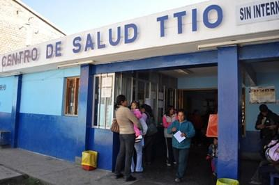The clinic where professional midwives volunteering in Peru are placed.