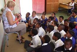 Volunteer professional teacher in South Africa