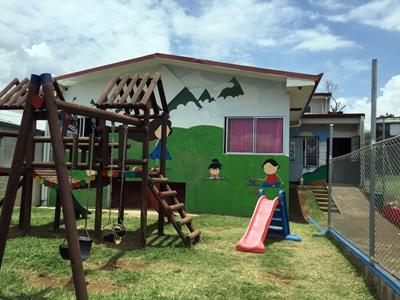 A care centre for disadvantaged children in Costa Rica