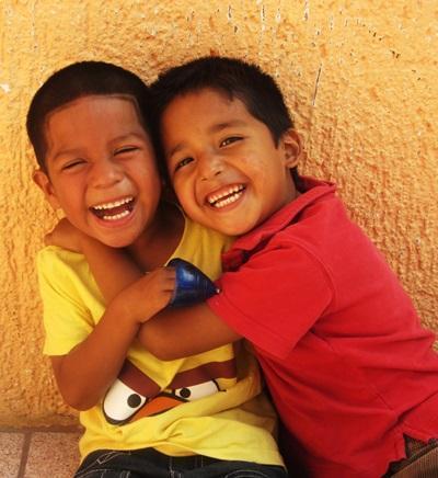 School children in Belize enjoy their afternoon playtime