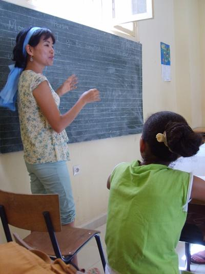 Volunteer Teaching English in a school in Morocco with Projects Abroad