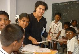 Volunteer Teaching in India